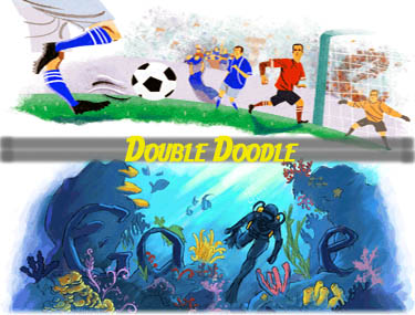 Double Doodle By Google