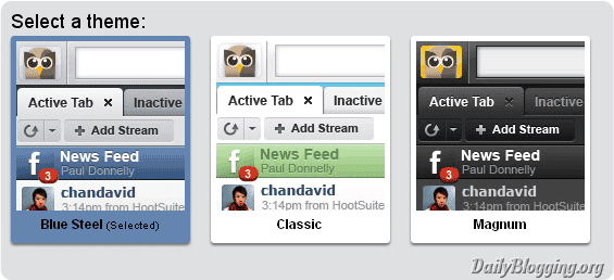 HootSuite Themes