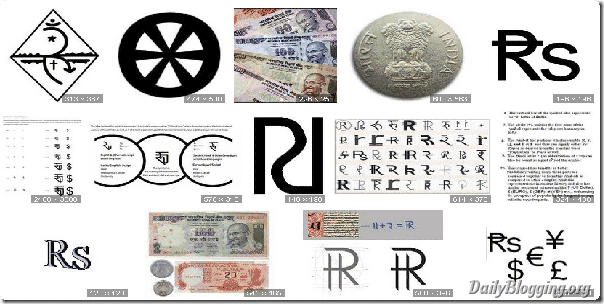 Image search for Rupee Symbol on Google