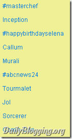 Murali on Twitter Trends list