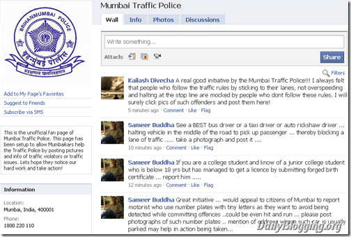 Mumbai-Traffic-Police-Facebook-Fanpage