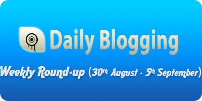 Daily-Blogging-weekly-september-week