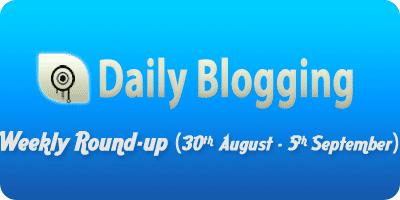 Daily-Blogging-weekly-september-week