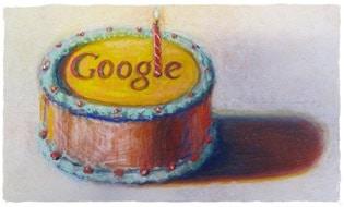 google-birthday-logo