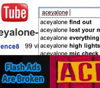 flash ads are broken