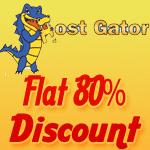 Hostgator 80% Discount