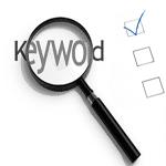keyword checkboxes