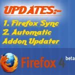 Firefox 4 Beta 8 updates