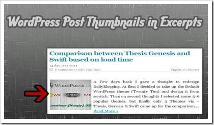 WordPress Post Thumbnails