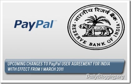 PayPal India Comply RBI Guidelines