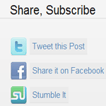 Add Share Buttons to WordPress