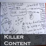 produce killer content