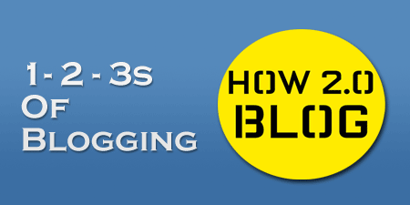 123s of Blogging