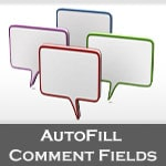 Autofill Comment Fields