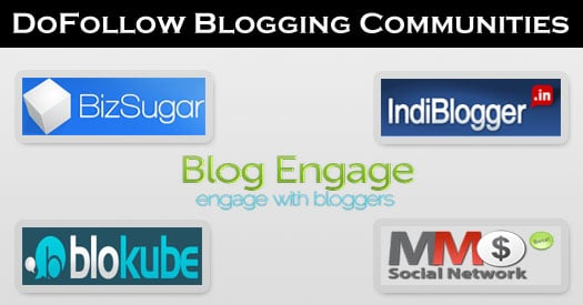 DoFollow Blogging Community Sites