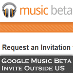 Google Music Invite
