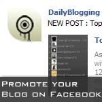 Promote Blog Facebook