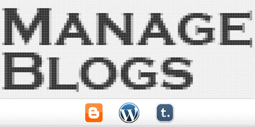 Manage Multiple Blogs