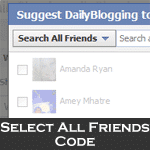 Select All Friends
