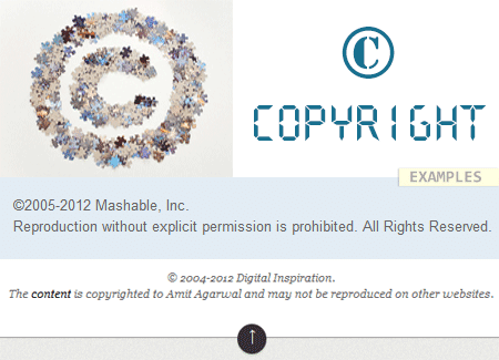 Blog Copyright Laws Content