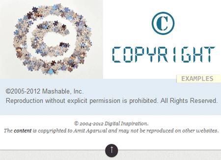 Blog Copyright Laws Content