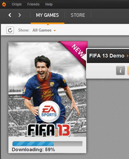 FIFA 13 Demo PC