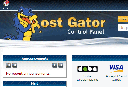 HostGator Primary Domain Name Change