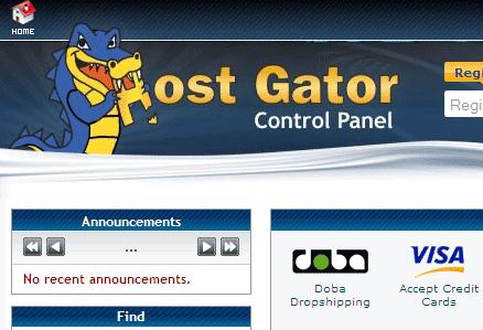 HostGator Primary Domain Name Change