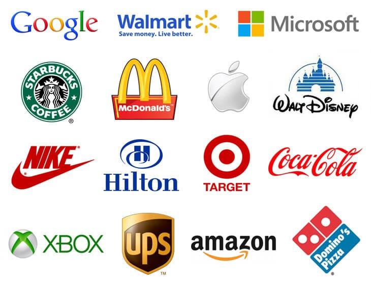 Top Brands Logos 1